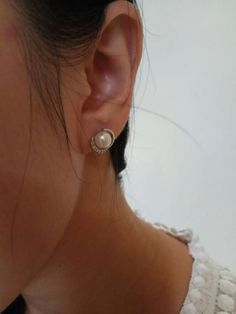 Fans, Pearl Earrings, Posts, Pearls, Jewelry, Pearl Studs, Messages, Jewlery, Jewerly
