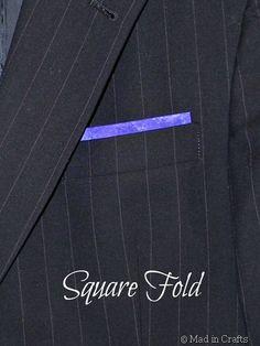 pocket square no tie Pocket Square Guide, Pocket Square Styles, Bridal Looks, Pocket Squares, Nike Logo, Logos, How To Make, Crafts, Fashion Trends