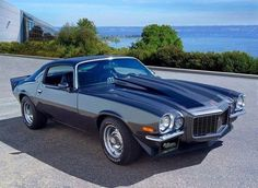 1970 Chevy Camaro, mine was a factory split bumper RS... I made a killing when I sold it but damn it was a neat car!