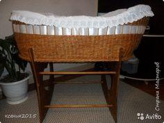 Поделка изделие День рождения Плетение Плетеная люлька для малыша Трубочки бумажные фото 1