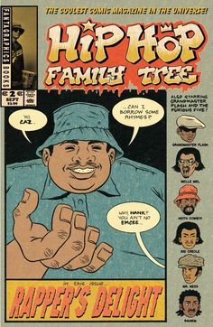 Hip Hop Family Tree #2 #Fantagraphics #HipHopFamily Release Date: 10/7/2015