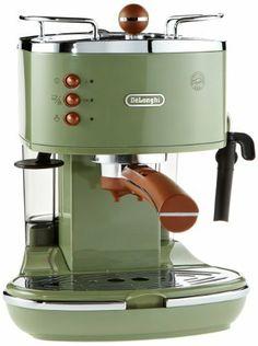 De'Longhi Vintage Icona ECOV310.GR Pump Espresso and Cappuccino Machine, 1.4 Litre, 1100 Watts - Green by Delonghi, http://www.amazon.co.uk/dp/B00921Q4SA/ref=cm_sw_r_pi_dp_xfjQsb1WXGNX7