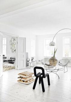 A bright home by interior stylist Josephine Ekström