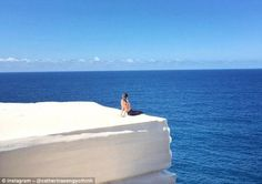 The view may be incredible onWedding Cake Rock, Sydney, Australia but that doesn't mean t...