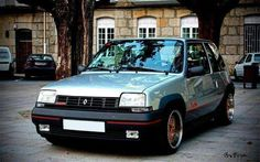 Renault 5 GT Turbo Silver Thalia, Renault 5 Gt Turbo, Matra, France, Small Cars, Rally Car, Car In The World, Bugatti, Custom Cars