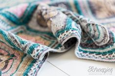 Ravelry: jacobthejacob's Nuts about Squares SCARF CAL