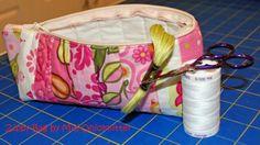 little zipper pouch tutorial