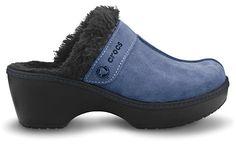 Crocs clogs to wear with blue jeans!    Crocs™ Cobbler Leather Clog | Comfortable Women's Clogs | Crocs™ Official Site