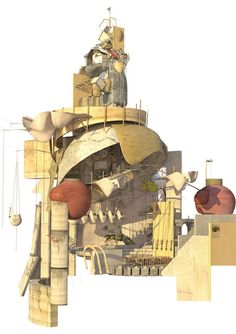That is interesting: Ifigeneia Liangi Bartlett School Of Architecture, Architecture People, Architecture Drawings, Neo Futurism, Lebbeus Woods, Graffiti Styles, Collage Design, Constructivism, Digital Illustration