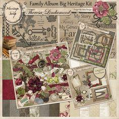 $5.19 Family Album Big Heritage Kit