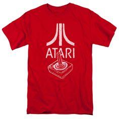 Atari T-Shirt Red Joystick Logo