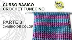 Tunecino, enjoy all your videos online and create your lists of favorite tracks Crochet Cocoon, Chunky Crochet, Tunisian Crochet, Love Crochet, Crochet Stitches, Knit Crochet, Crochet Hats, Crochet Designs, Crochet Patterns