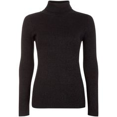 Blue Vanilla Black Glitter Turtle Neck Jumper (620 MXN) ❤ liked on Polyvore featuring tops, sweaters, glitter top, polo neck jumper, turtle neck sweater, jumpers sweaters and turtleneck sweater
