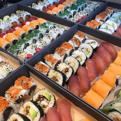 """Uramaki Nottingham! on Instagram: """"Are you having a Sushi and champagne weekend? 🍣🥢🥂🍾 Check out our freshly prepared Sushi cases from this morning! Which one is yours?…"""" Sushi Case, Which One Are You, Nottingham, Champagne, Cases, Check, Instagram"""