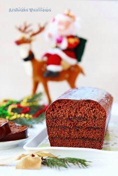 Arabeska : Szybki piernik przekładany Nutella, Xmas, Sweets, Baking, Cake, Christmas Recipes, Polish Food Recipes, Gummi Candy, Christmas
