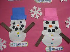 Mrs Jump's class: Snowman Fun!