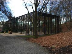 Ausstellungsraum im Skulpturenpark Waldfrieden