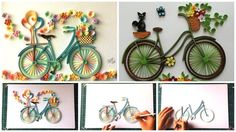 How-to-make-quilling-bicycle-with-flowers-featured