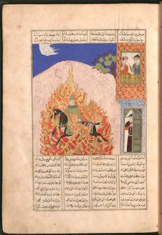 Firdausī: Šāhnāma - BSB Cod.pers. 8. - Iran, 1497 [902 h.] 55 Bayerische Staatsbibliothek