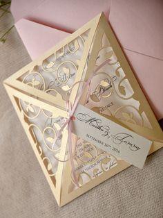 WEDDING INVITATIONS lasercut/engraved 05/Lcut/z