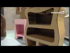 El ZAWP de Zorrozaurre imparte cursos sobre una moda que abarca la de fabricar muebles de cartón - YouTube