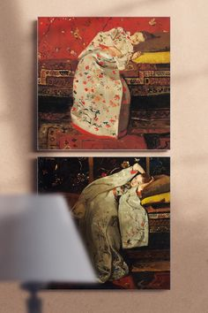 It is suspected that Breitner series 'Girls in kimono' painted at a time when he came to rest after an eye disease. They radiate more calmness than some of his other works. The canvas art prints can become a perfect asset to your bedroom. Art Pieces, Canvas Art Prints, Photo, Abstract Words, Canvas, Painting, Art, Canvas Art, Abstract