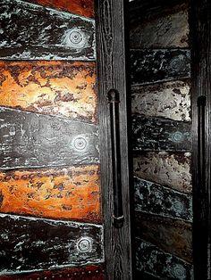 Купить двери в лофт интерьеры - лофт, индустриальный стиль, двери, лофт интерьер, медь, сталь