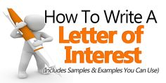 How to write an amazing letter of interest that will the trigger rabid interest in you from your ideal company or organization. Job Letter, Job Cover Letter, Writing A Cover Letter, Cover Letter Example, Letter Of Interest Template, Cover Letter Template, Letter Of Interest Job, Letter Templates, Donation Letter Samples
