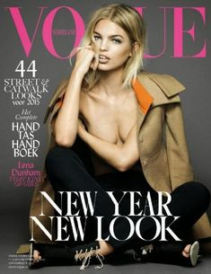 Daphne Groeneveld - Vogue Magazine Cover [Netherlands] (February 2015)