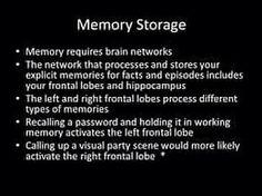 what is memory storage?  Visit us on goimprovememory.com  Via  google images  #memory #memorys #memorylane #memorybox #memoryfoam #memories #memoryloss #improvememory #memoryday #memoryhelp #memorybook