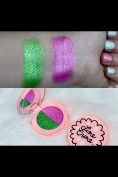 Flamingo and lawn superfoils by lime crime