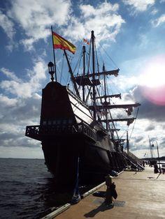 https://flic.kr/p/MVUqKy | El Galeon | 17th Century Spanish War Ship