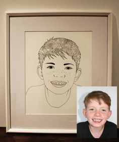 Beautifully illustrated personalised portraits, with hobbies reflecting the whole family.