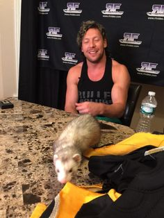 """RobFeinstein RFVIDEOさんはTwitterを使っています: """"Our @KennyOmegamanX shoot interview was over 3 hours of amazing stories from his career. You will love this Dvd! http://t.co/4UIyhjJbkn"""""""