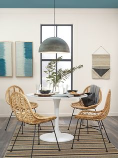 Behr's 2021 Color Trend Forecast Is Like a Mood Ring for Our Future Homes Behr Paint Colors, Interior Paint Colors, Dining Room Walls, Dining Chairs, Colorful Decor, Colorful Interiors, Trending Paint Colors, Color Trends, Design Trends