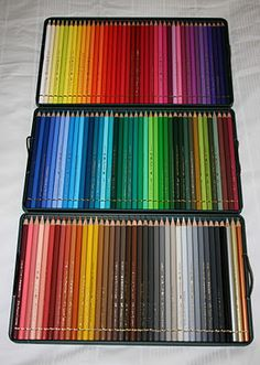 Set of 120 Faber Castell Polychromos Coloured Pencils - I want a set so much. Gel Pen Art, Drawings Pinterest, Social Media Art, Art Supplies Storage, Cool School Supplies, Lettering Tutorial, Coloured Pencils, Crayon, Art Drawings