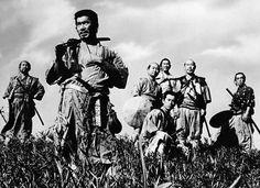 Seven Samurai (1954). Directed by Akira Kurosawa.