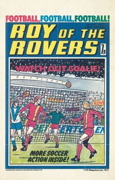 Roy of the Rovers Postcard Box