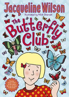 Gizzimomo's Book Shelf: BOOK BLITZ - The Butterfly Club by Jacqueline Wils...