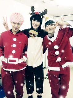 ☆Merry Christmas ~ Yesung, Kyuhyun and Ryeowook