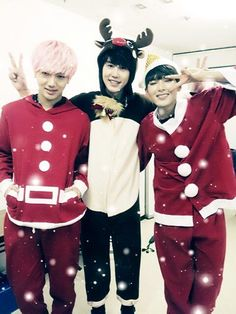 ☆Merry Christmas ~ Yesung, Kyuhyun and Ryeowook @ELF ♡