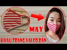 I have made a fabric face mask video tutorial. In this simple face mask sewing video, I . Sewing Hacks, Sewing Tutorials, Sewing Patterns, Crochet Patterns, Fabric Crafts, Sewing Crafts, Sewing Projects, Diy Mask, Diy Face Mask