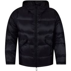 PAUL SMITH JEANS Paul Smith Black Logo Puffer Jacket - Clothing from…