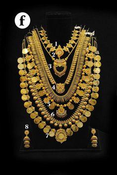 Real Gold Jewelry, Gold Jewellery Design, Luxury Jewelry, Kerala Jewellery, Indian Jewelry, Pearl Necklace Designs, Necklace Set, Gold Set, Jewelry Collection