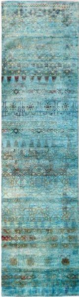 3496 Kundan Collection OD Silk Rug 290x77cm