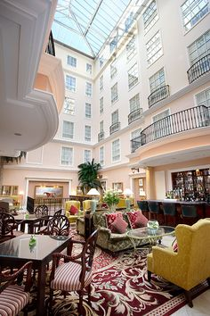 The Atrium Lounge at The Westin Dublin. We had a great week stay here in May, 2013. Would come back again.