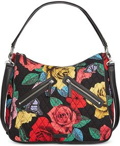 e9612d664cd3 Vera Bradley Vivian Hobo Bag in Havana Rose Hobo Handbags