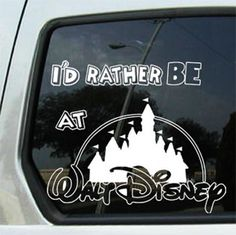 """DISNEY MICKEY MOUSE CASTLE DECAL STICKER CAR DECALS    UP FOR BUY IT NOW IS THIS RARE """"Mickey""""CASTLE WHITE DECAL 1. DECAL IS ABOUT 7.5 INCHES BY 5.5 INCHES 2. VERY HARD TO FIND ANYWHERE 3. VERY AFFORDABLE 4. WILL LAST 7 YEARS OF WEATHER PROOF IF YOU LIKE MORE CHECK OUT MY STORE ON THE LEFT WE ACCEPT PAYPAL AND MONEY ORDERS    Model: Mickey.0017"""