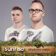 If you like it #raw, then you'll need to check out @phuturenoize ! #sunrisefestival