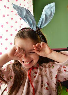 bunny ear headband tutorial